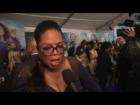 A Wrinkle In Time: Oprah Winfrey World Premiere Movie Interview
