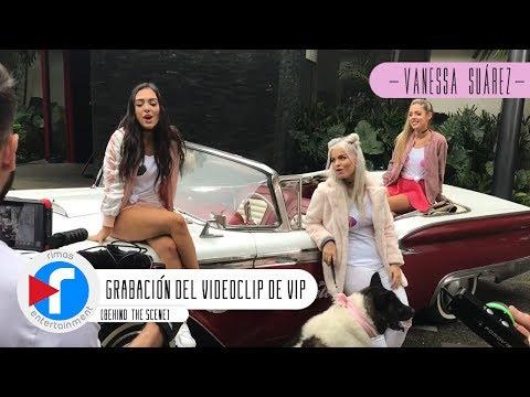 Grabación del videoclip #VIP (Behind The Scene)