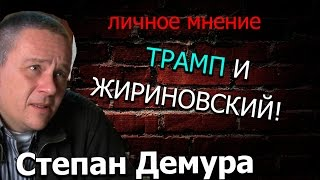 Степан Демура ТРАМП И ЖИРИНОВСКИЙ!