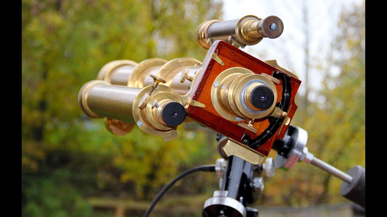 Restauration eines teleskop für astrofotografie fraunhofer merz