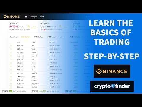 A simple Binance tutorial (trading for beginners) 2019