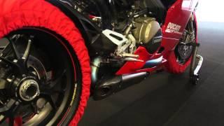 Ducati 1299 Panigale S Akrapovic - Kurzer Soundcheck