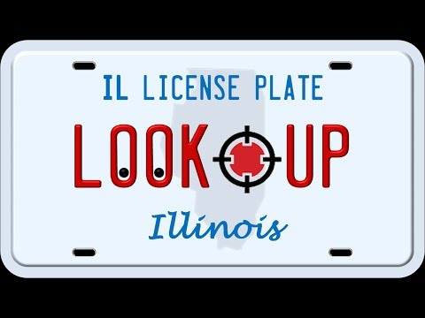 How to Search an Illinois License Plate Number