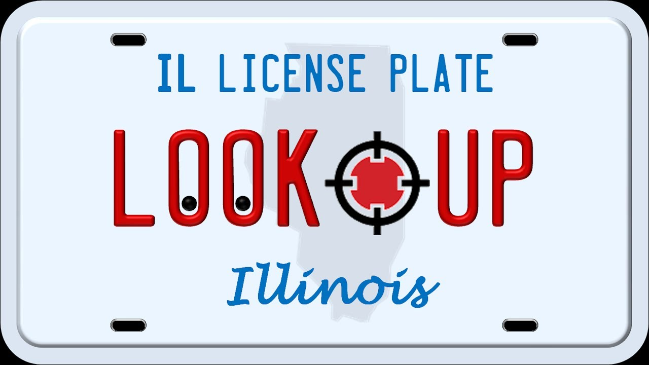 How to Search an Illinois License Plate Number - YouTube