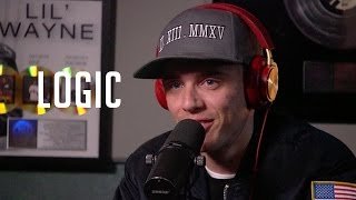 Logic talks Being Too Nice, Putting Neil deGrasse Tyson on Album + Rubix Cube in Under a Minute!