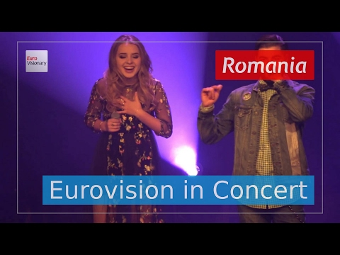 Ilinca ft. Alex Florea - Yodel It! - Romania (Live in 4K!) Eurovision in Concert 2017