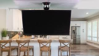 MOUNT-E-FD55 Electric flip down ceiling tv mount by VIVO