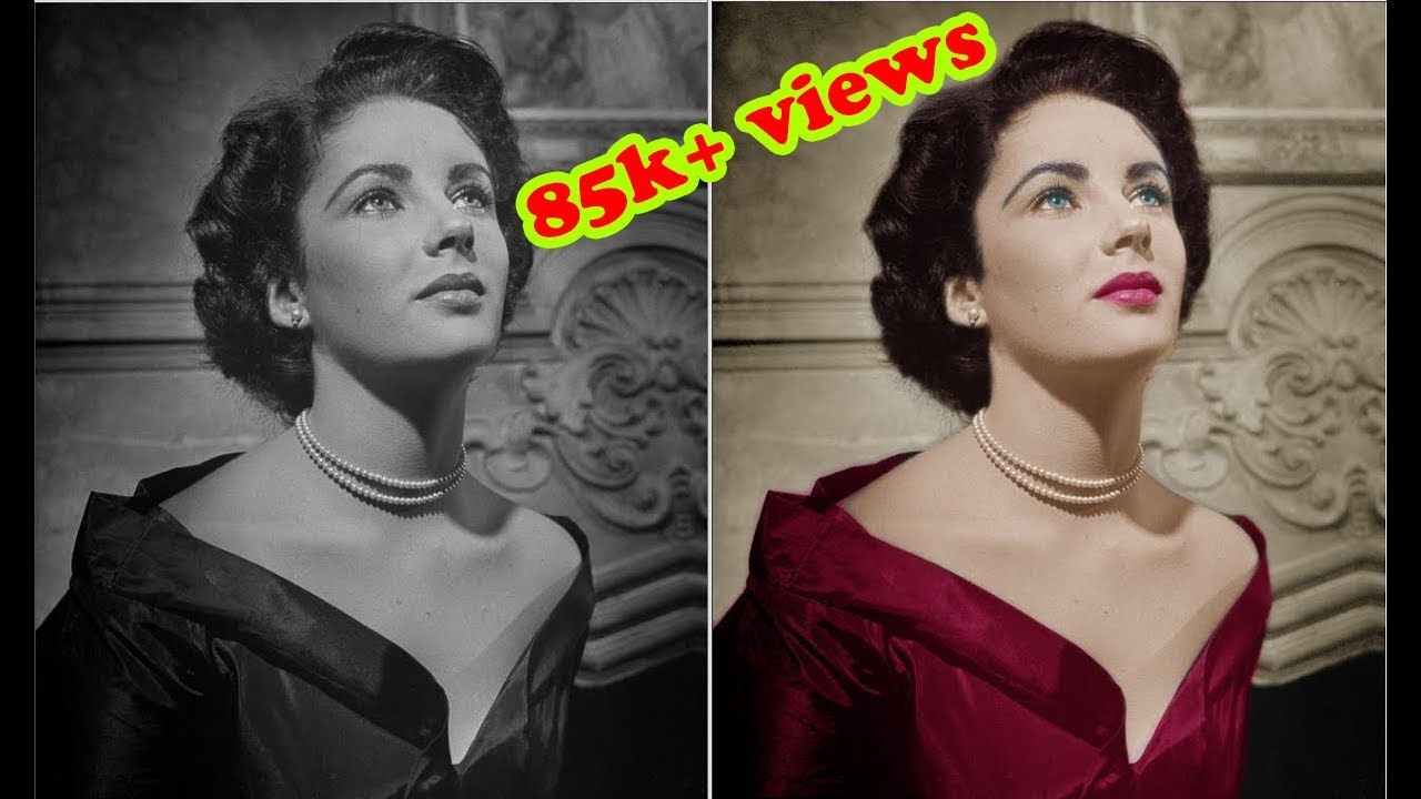 How to Colorize Black and White Photo in Photoshop ...