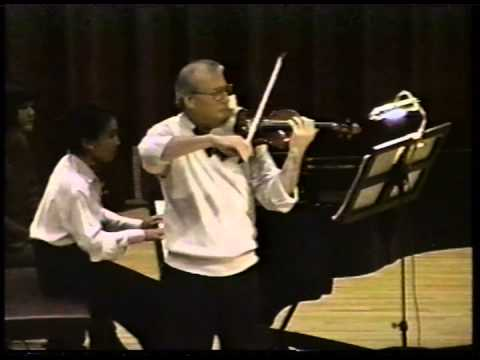 Skowronski Plays! Paderewski Violin Sonata, op. 13, First Movement
