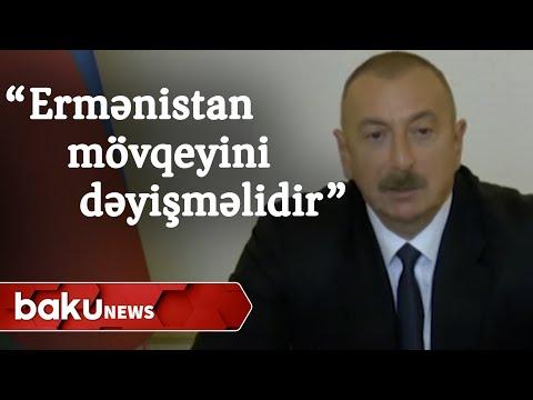 """""""Ermənistan hökuməti mövqeyini dəyişməlidir"""" - Baku TV"""