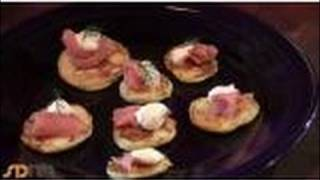 Potato Blini With Smoked Salmon: Valentines Brunch Recipe