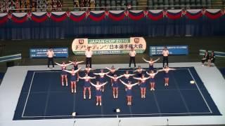 JapanCup2016 Div1 高等学校準決勝 県立麻生高 ZIPS