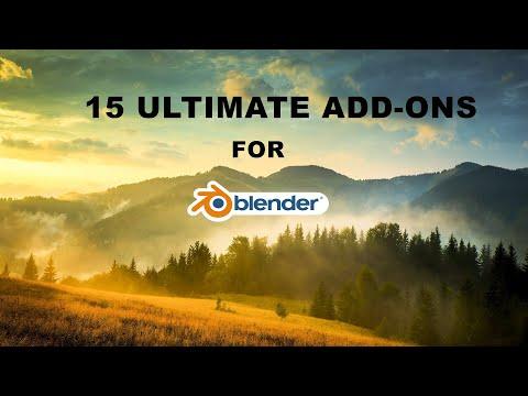 15 Ultimate add-ons for Blender   Blender 2.8   R Animation studios