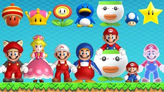 New Super Mario Bros. U Deluxe - All Power-Ups