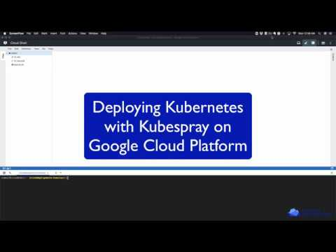 Install Kubernetes with Kubespray on Google Cloud Platform