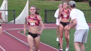 Shelby houlihan smashes 5k american record in 14:23!