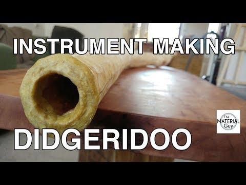 Instrument Making: A Didgeridoo