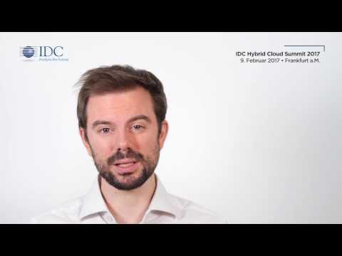 Einladung: IDC Hybrid Cloud Summit 2017