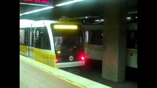 LA Metro Expo Line Test Train