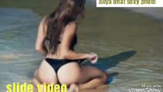 aliya bhat top sexy video