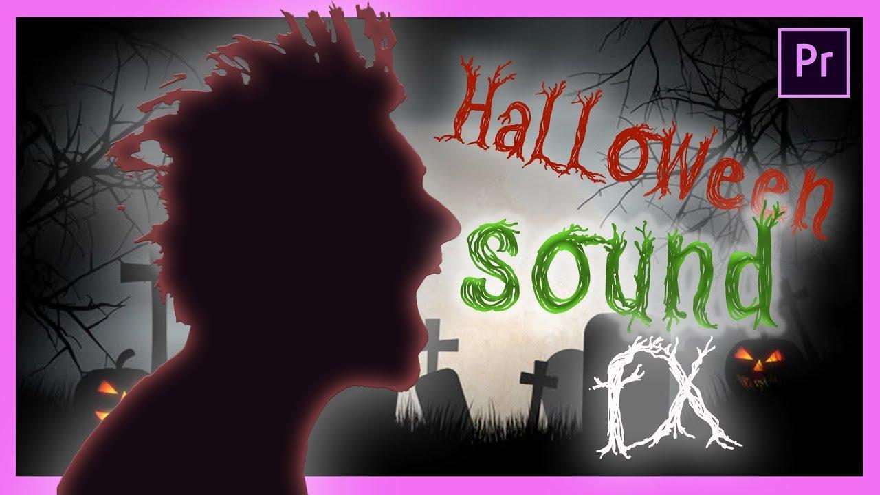 How to Make SPOOKY Halloween Sound FX (SFX) in Adobe Premiere Pro CC -  Tutorial