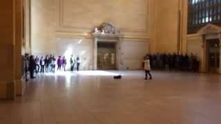 Grand Central Terminal Flash Mob Choir - Friday 3/21/2014