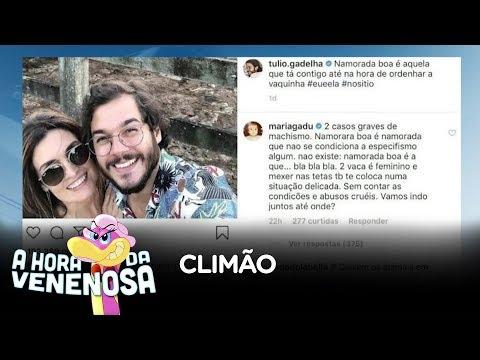 Foto de Fátima Bernardes com namorado causa confusão na internet