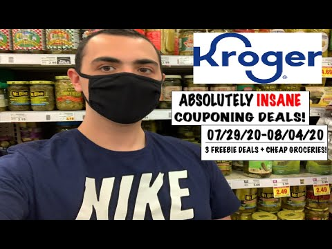 ABSOLUTELY INSANE KROGER COUPONING DEALS! ~ 07/28/20-08/04/20 ~ 3 FREEBIES + CHEAP GROCERIES!