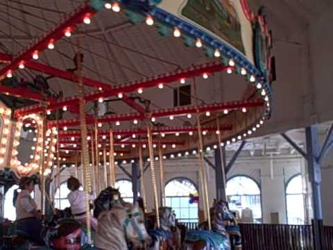 Be A Smile: The Santa Monica Pier Carousels  Famous for many movies