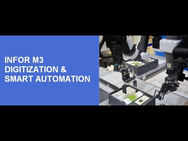 Infor M3 Digitization & Smart Automation Proposition