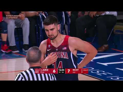 2017.11.22 #2 Arizona Wildcats vs NC State Wolfpack Basketball