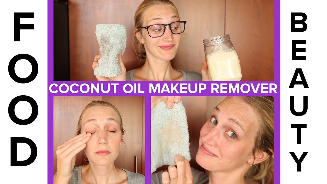 How to make makeup remover with coconut oil