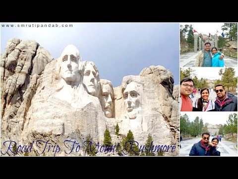Easter Holiday Road Trip To Mount Rushmore🚗