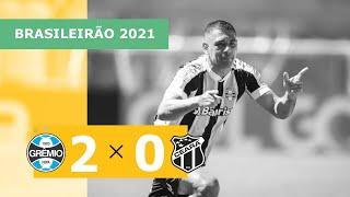 Гремио  2-0  Сеара видео