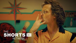 """The bowling league champs vs. the small town """"losers"""" square off. 