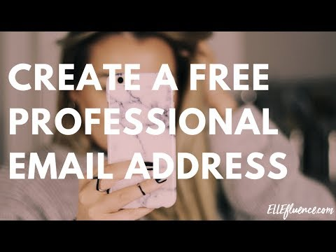 How To Create A Professional And Custom Email Address For Free