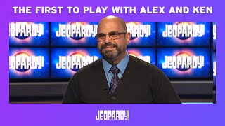 Jim Gilligan: First Contestant to Play with Alex Trebek and Ken Jennings | JEOPARDY!