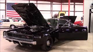 1968 Dodge Charger Dark Purple