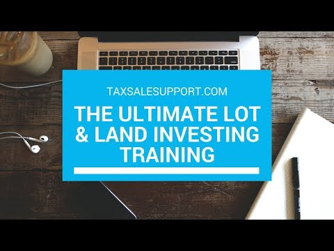 """The Ultimate """"Land Investing"""" Tax Deed Tutorial (Online & OTC)"""