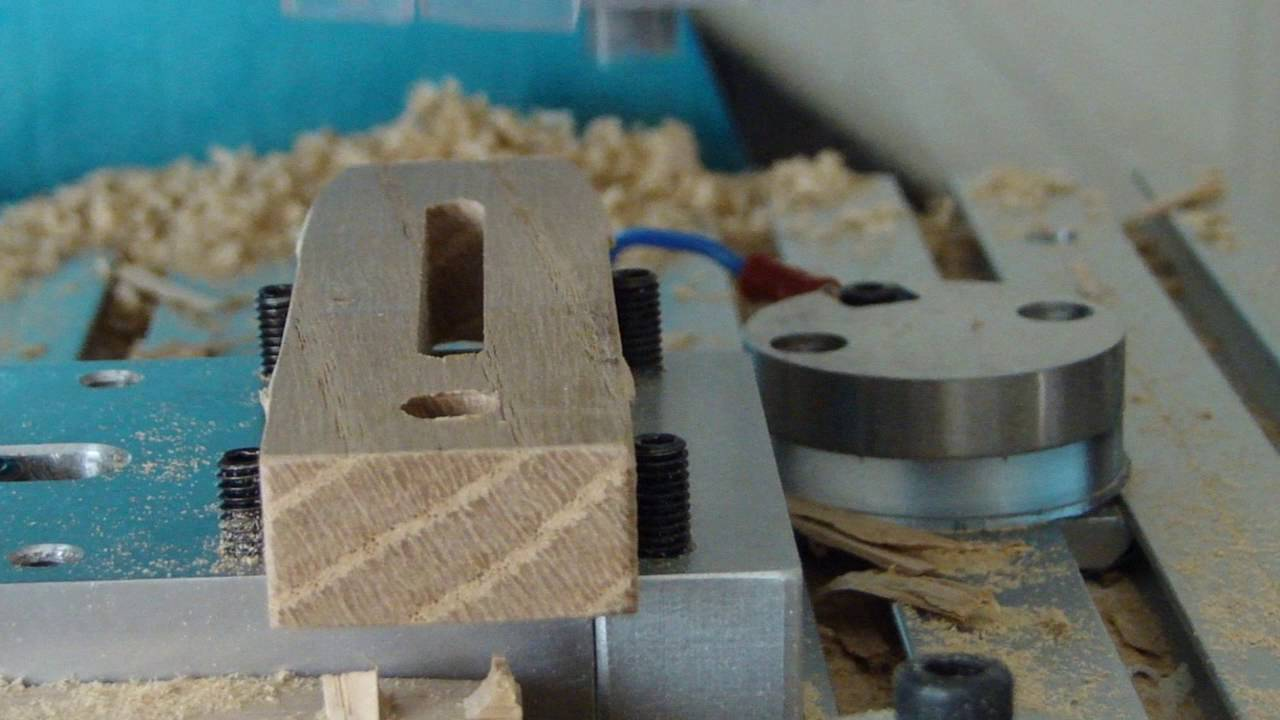 How to cut a Hardwood toe clamp with a CNC Router