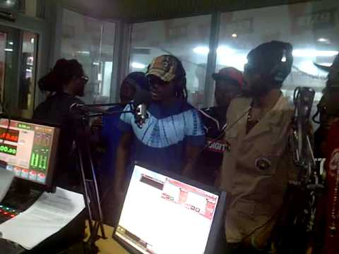 Stonebwoy,BusySignal,Iwan,Samini Live @YFM Ghana #Resolution2012