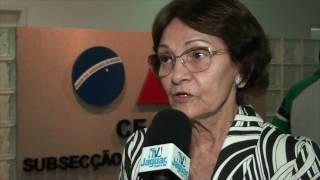 Bazinha fala na importância da Plataforma Digital Georeferenciada do SAAE de Limoeiro do Norte.