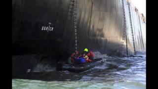 MS Oliva runs aground, Tristan da Cunha, Nightingale Island.