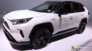 2019 Toyota Rav4 Hybrid - Exterior and Interior Walkaround - Debut at 2018 Paris Motor Show