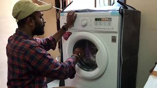 LG Washing Machine Fully Automatic Front Load (FH0B8NDL22) | Kannada