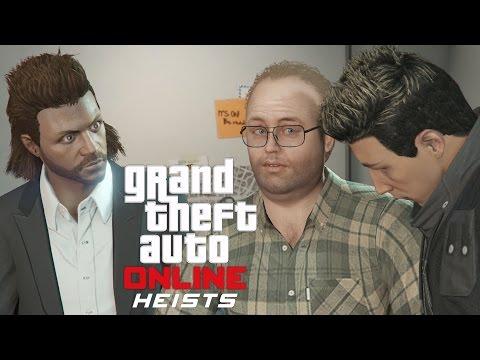 GTA 5 Online PS4 Multiplayer Gameplay - GTA Online - GTA 5 Heists - The Fleeca Job
