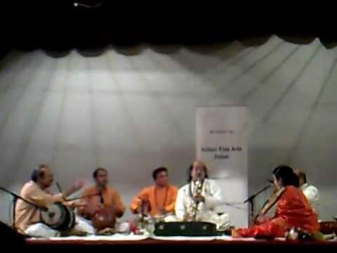 "Kadri Gopalnath in Dubai ,""Raghuvamsa Sudha"" , (mobile capture)"