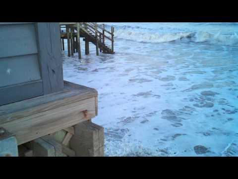 Watching Folly Beach wash away