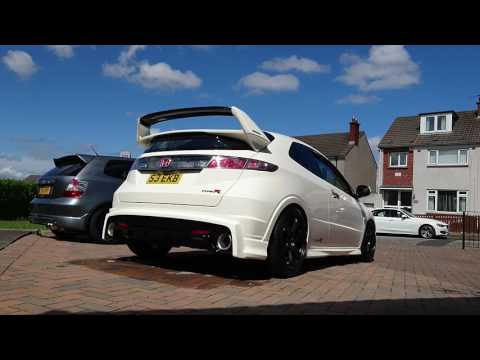 FN2 Type R Cold Start & Rev / De-silenced Exhaust