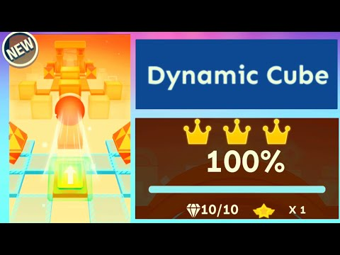 Rolling Sky - Level 41 Dynamic Cube [OFFICIAL]